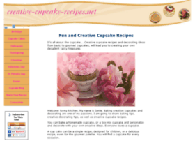 Creative-cupcake-recipes.net thumbnail