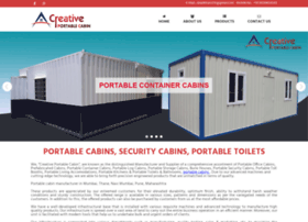 Creativeportablecabin.co.in thumbnail