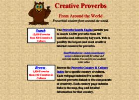 Creativeproverbs.com thumbnail