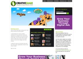Creativeshake.com thumbnail