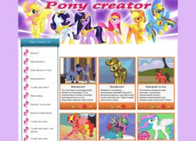 Creator-pony.ru thumbnail