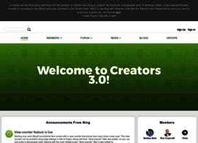 Creators.ning.com thumbnail