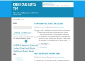 Creditcardadvisetips.com thumbnail