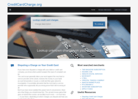 Creditcardcharge.org thumbnail