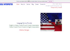Creoleinterpreter.org thumbnail