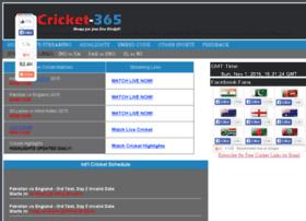 cricket net 365