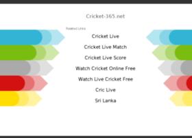 Cricket-365.net thumbnail