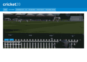 Cricket20.com thumbnail