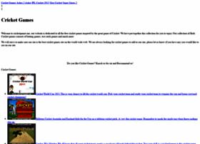 Cricketgames.me thumbnail