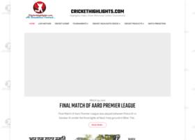 Crickethighlights.com thumbnail
