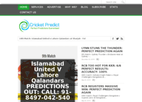Cricketpredict.com thumbnail