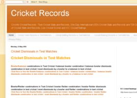 Cricketrecordscricinfo.blogspot.in thumbnail