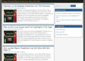 Cricketscoreprediction.info thumbnail