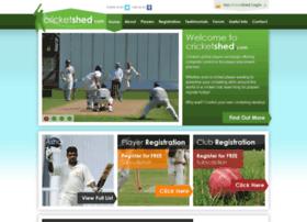 Cricketshed.com thumbnail
