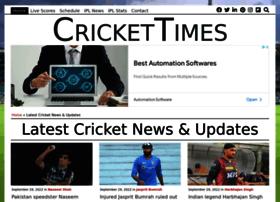 Crickettimes.org thumbnail