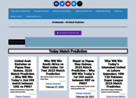 Cricketwebs.com thumbnail