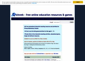 Crickweb.co.uk thumbnail