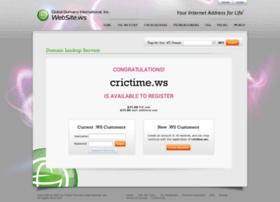 Crictime.ws thumbnail