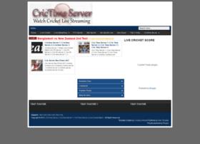 Crictimeserver123.blogspot.com thumbnail