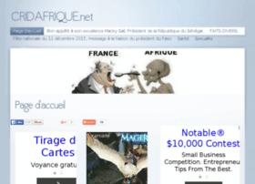 Cridafrique.net thumbnail