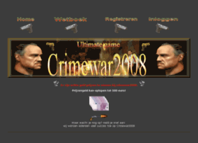 Crimewar2008.nl thumbnail