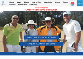 Croquet-nsw.org thumbnail