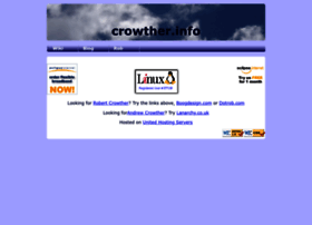 Crowther.info thumbnail