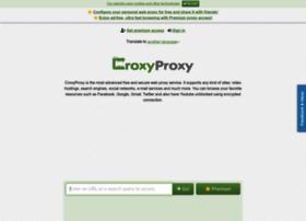 Croxyproxy.com thumbnail