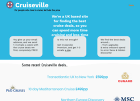 Cruiseville.co.uk thumbnail