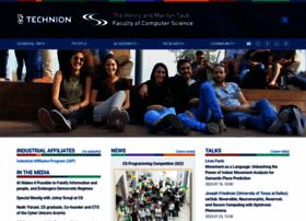 Cs.technion.ac.il thumbnail