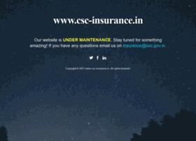 Csc-insurance.in thumbnail
