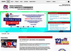 Csc.gov.ph thumbnail