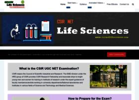 Csirnetlifesciences.com thumbnail