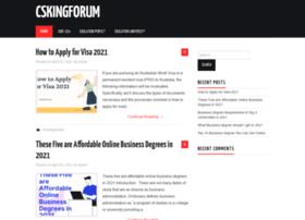 Csking-forum.org thumbnail
