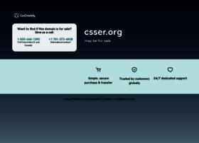 Csser.org thumbnail