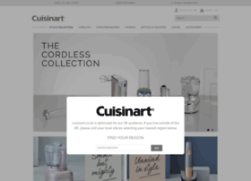 Cuisinart.co.uk thumbnail
