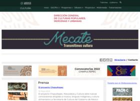 Culturaspopulareseindigenas.gob.mx thumbnail