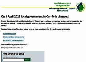 Cumbria.gov.uk thumbnail