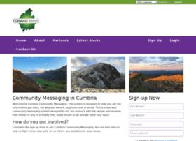 Cumbriacommunitymessaging.co.uk thumbnail