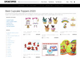 Cupcaketoppers.org thumbnail
