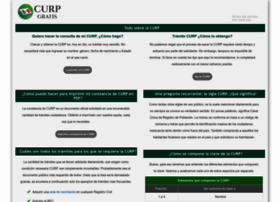 Curp-gratis.com.mx thumbnail