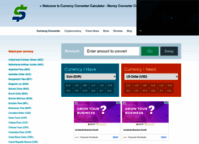 Currency-converter-calculator.com thumbnail
