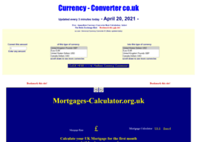 Currency-converter.co.uk thumbnail