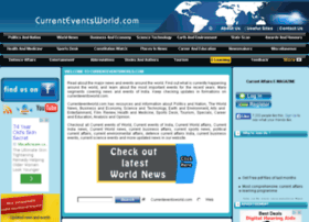 Currenteventsworld.com thumbnail