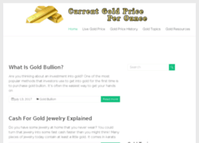Currentgoldpriceperounce.com thumbnail