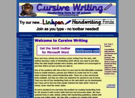 Cursivewriting.org thumbnail