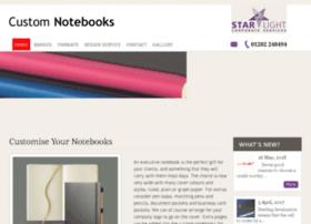 Custom-notebooks.co.uk thumbnail