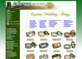 Custom-wedding-rings.com thumbnail
