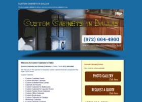 Customcabinetsdallas.net thumbnail
