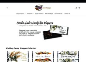 Customcandybarwrapper.com thumbnail